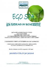 Ego SPA all'Hotel Terme President
