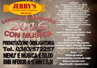 Capodanno 2016 in musica da Jerry's